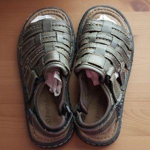 St John's Bay Men's Brown Outdoor Sandals